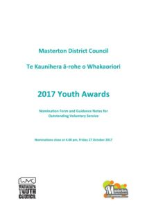 thumbnail of Youth Awards Guidelines Nomination 2017 – FinalPDF