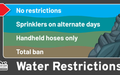 Water restrictions lifted